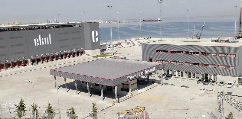 Yalova Ro-Ro Terminali açıldı artık 100 binden fazla treyler İstanbul trafiğine girmeyecek