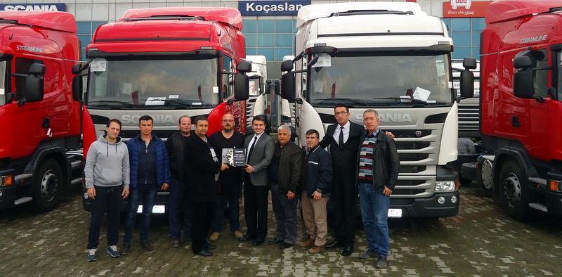 Yeni aldığı Scania çekiçiler ile filosundaki araç sayısını 200'ye yaklaştırdı