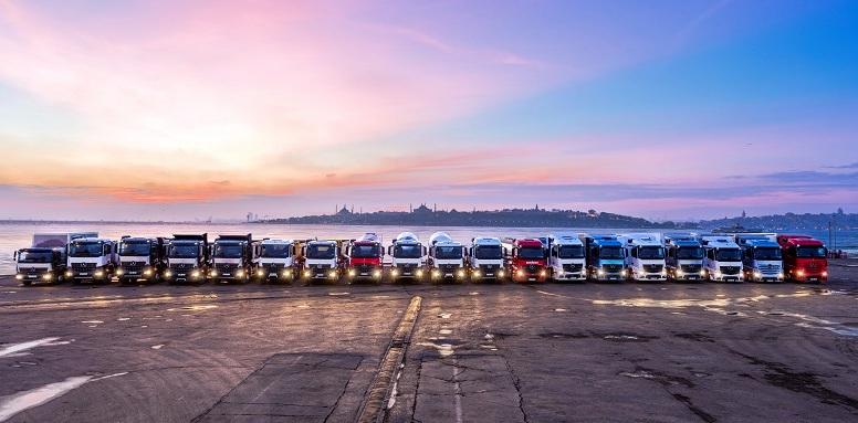 Yeni Euro 6 kamyonları Denizliler ile buluşturuyor