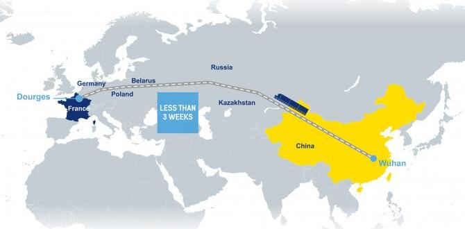 Yeni İpek Yolu'nun ilk blok treni 40'lık konteynerları Çin'den Fransa'ya 3 haftada taşıdı