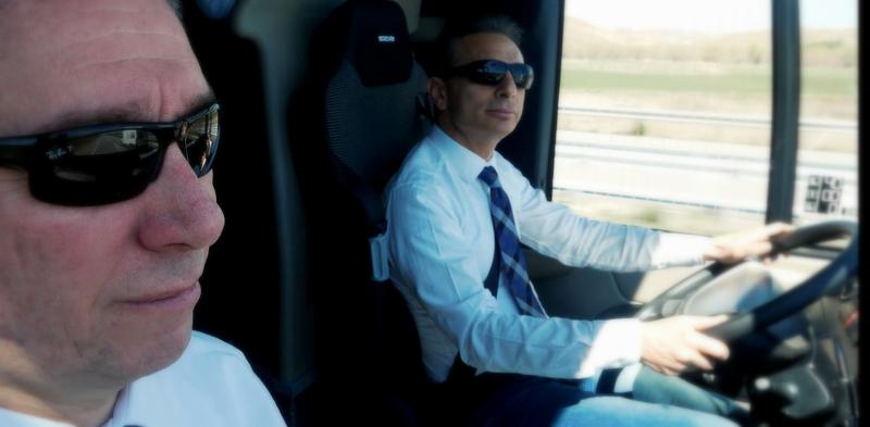Yeni Tourliner'ın ilk test sürüşünü Ankara-Tokat arasında MAN Genel Müdürü gerçekleştirdi