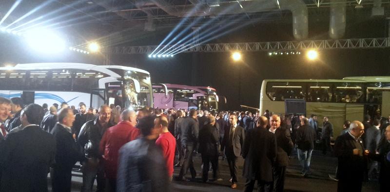 Yeni Travego'nun tanıtımına 1000'den fazla otobüsçü katıldı
