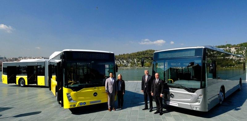 Yenilenen şehiriçi otobüsleri Conecto Solo ve Conecto Körüklü tanıtıldı