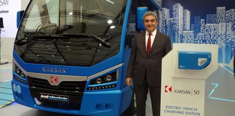 Yerli ve Elektrikli Minibüs Karsan Jest Busworld Fuarı'nda Görücüye Çıktı!