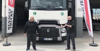 Mehmet Mücahit Şişman Nakliye filosuna Renault Trucks T480 Yüksek Kabin kattı