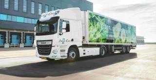 Avrupa'da 1000'den fazla süpermarketi olan Albert Heijn'in nakliye şirketleri DAF elektrikli ve hibrit kamyon kullanacak