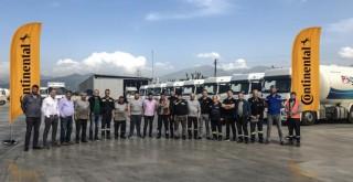 Continental'den Ultrans'ın sürücülerine lastik ve sürüş güvenliği eğitimi