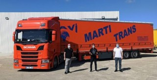 Mavi Martı Trans filosuna 10 adet Scania R450 kattı