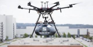 SEAT üretimde kullanılan parçaları drone ile taşımaya başladı