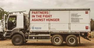 Renault Trucks, Dünya Gıda Programı'na katkısını sürdürüyor