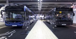 Temsa elektrikli araçlarını İsveç'te sergiledi