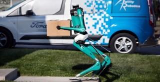 Ford'un otonom teslimat robotu: Digit