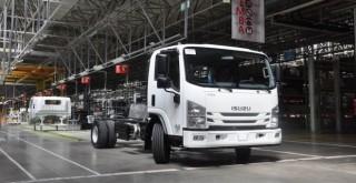 Anadolu Isuzu'dan İtalya'ya 234 adet kamyon ihracatı