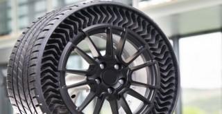 Michelin'den havasız lastik teknolojisi
