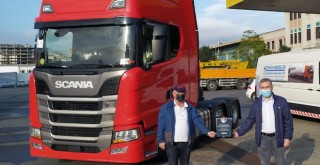 Scania'dan Zafer Kardeşler'e Özel R540