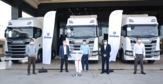 Scania'dan Zelal Taşımacılık'a 10, Budak Nakliyat ise 1 adet R500