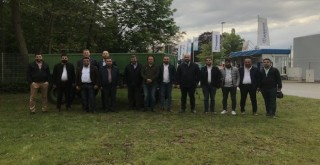 Krone'nin Türk müşterileri Almanya'daki Frigo Fabrikasını ziyaret etti