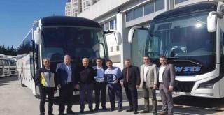 Artvin Ses'e 2 adet 13 metre 2+1 VIP MAN Lion's Coach otobüs