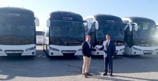 Antalya'nın köklü turizm firması TURSE'ye 5 adet NEOPLAN Tourliner