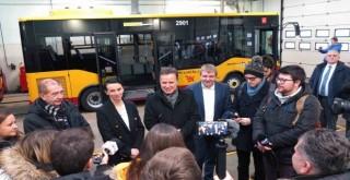 Anadolu Isuzu, Polonya'nın Lodz şehrine 24 adet Novociti Life teslim etti