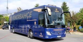 Fenerbahçe'nin Mercedes-Benz Takım Otobüsü yeni tasarımıyla sezona hazır